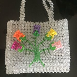 Bouquet 💐 Beaded Bag NWT